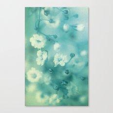 Vintage blue Canvas Print
