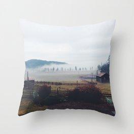 The Farm 2 Throw Pillow