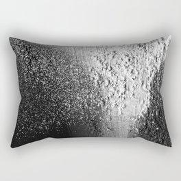 Splatter-Black Rectangular Pillow
