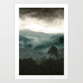 Above the Clouds and Beyond Art Print