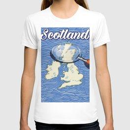 Scotland Vintage style travel poster T-shirt