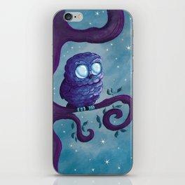 Owl & the stars iPhone Skin