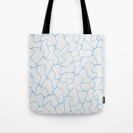 Stone Wall Drawing #1 Tote Bag