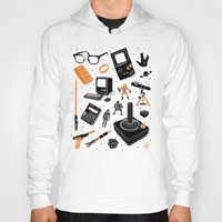 nerd Hoodies featuring Nerd Life by Josh Ln