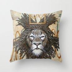 Hommage a Basquiat Throw Pillow