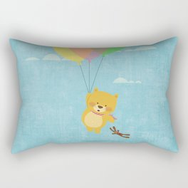I can fly! Rectangular Pillow