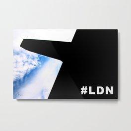 #LDN Metal Print