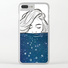 Deep breathing. Clear iPhone Case