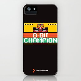 8-Bit Champion iPhone Case