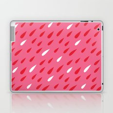 Red + Pink Droplets Laptop & iPad Skin