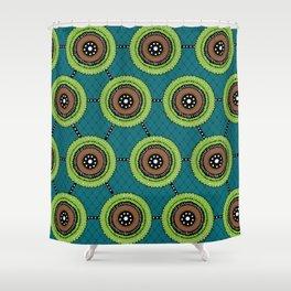 Green Hornet Shower Curtain