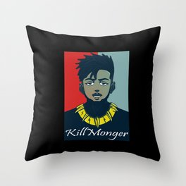 Kilmonger Throw Pillow