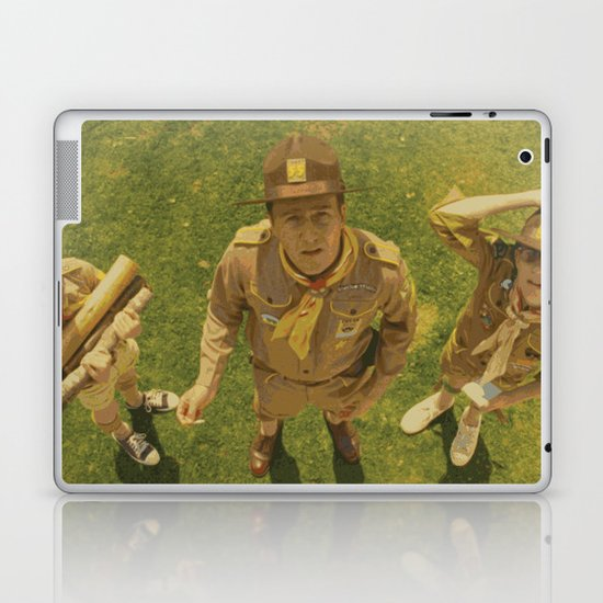 Moonrise Kingdom Edward Norton Laptop & iPad Skin