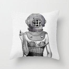 Sunken Throw Pillow