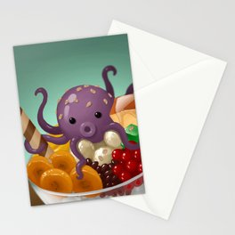 Halo Haloctopus Stationery Cards