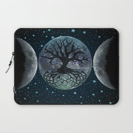 Esoteric Tripple Moon Laptop Sleeve