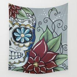 Erin's Sugar Skull Wall Tapestry
