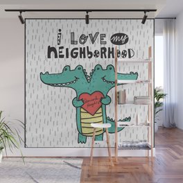 Swampy Heights Wall Mural