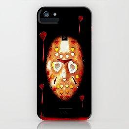 Jason.....a love story 025 iPhone Case