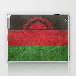 Old and Worn Distressed Vintage Flag of Malawi Laptop & iPad Skin