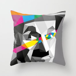 Color Charlie Throw Pillow