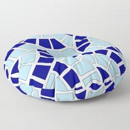 Mosaico azul Floor Pillow