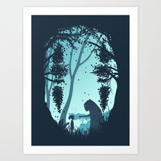 Lonely Spirit Spirited Away Art Print