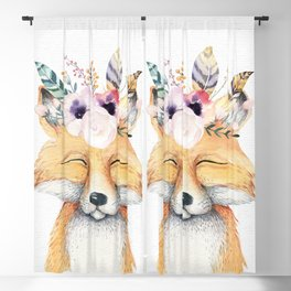 Forest Fox by Nature Magick Blackout Curtain