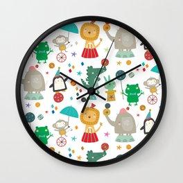 The Circus Wall Clock