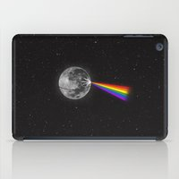 dark side of the moon iPad Cases featuring The Dark Side of the Moon by Zach Terrell