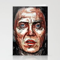 christopher walken Stationery Cards featuring Walken by Dnzsea