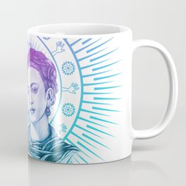 Frida Kahlo Feminist Bravery Coffee Mug