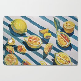 """When life gives you lemons"" Cutting Board"