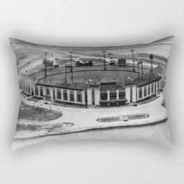 Roosevelt Stadium Vintage Rectangular Pillow