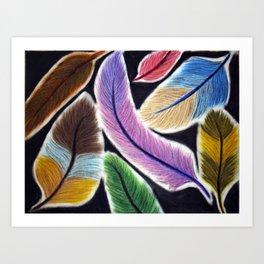 Featherz Art Print