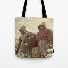 The Cotton Pickers by Winslow Homer, 1876 Tote Bag