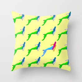 A different Mermaid Throw Pillow