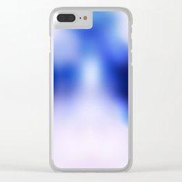 Inkblot Clear iPhone Case