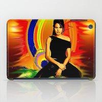 angelina jolie iPad Cases featuring Angelina Jolie by JT Digital Art