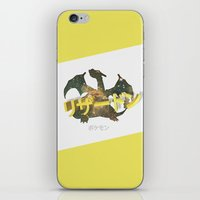 charizard iPhone & iPod Skins featuring Charizard by Thomas Official