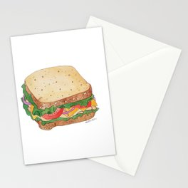 S is for Sandwich Stationery Cards