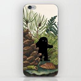Tiny Sasquatch iPhone Skin