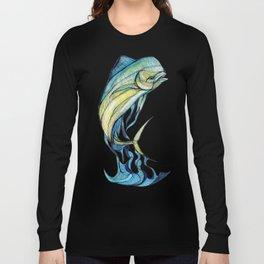 The Glass Mahi Mahi  Long Sleeve T-shirt