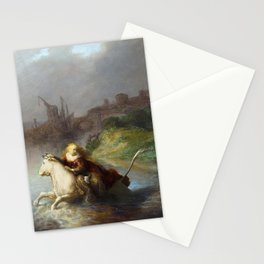 "Rembrandt Harmenszoon van Rijn, ""The Abduction of Europa"", 1632 Stationery Cards"
