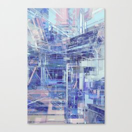 Orthographic - S2P5 Canvas Print
