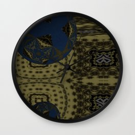 Opposed 3D 2 Wall Clock
