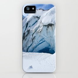 Glacier Cave iPhone Case