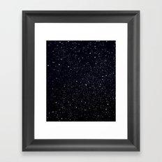 EH-WEANS-IN-SPACE Framed Art Print