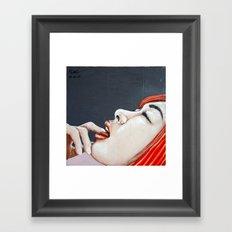 Teasingly Framed Art Print