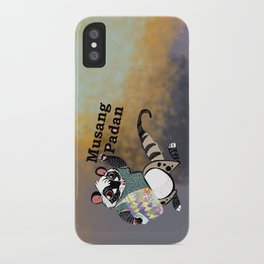 Musang padan iPhone Case
